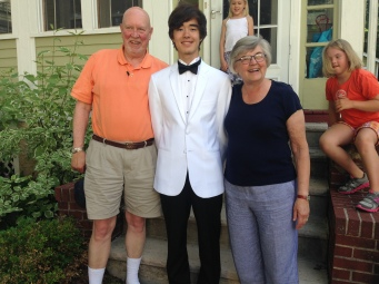 with the grandparents