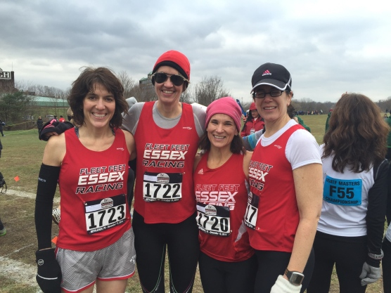 Essex Running Club master's women