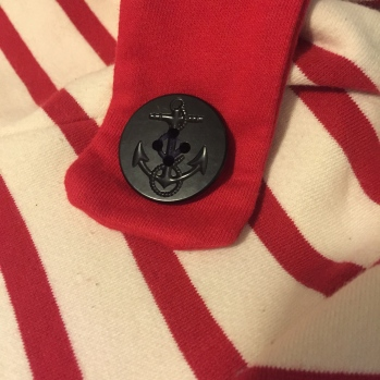 button rescued from an old pea coat