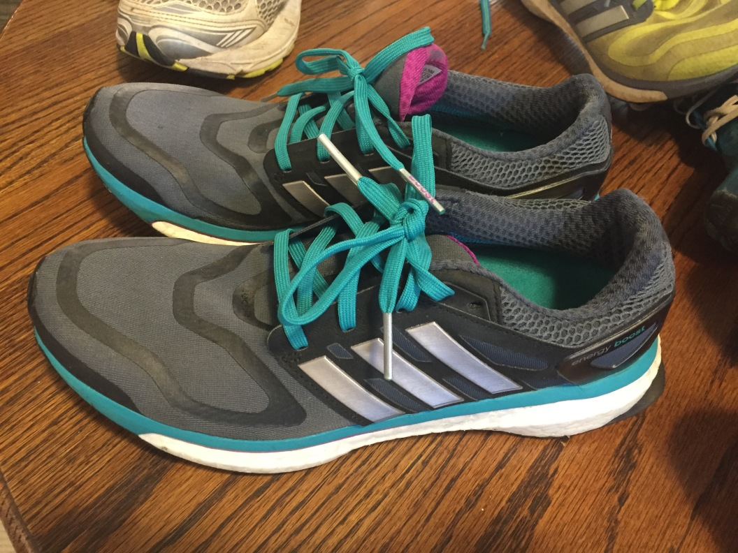 3rd pair adidas boost--bought when my luggage was lost in Brussels and I panicked.