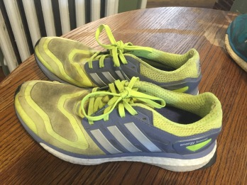 first Adidas boost--I loved these shoes