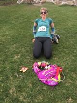 yoga at mile 15