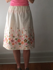 midi-skirt (no pattern)