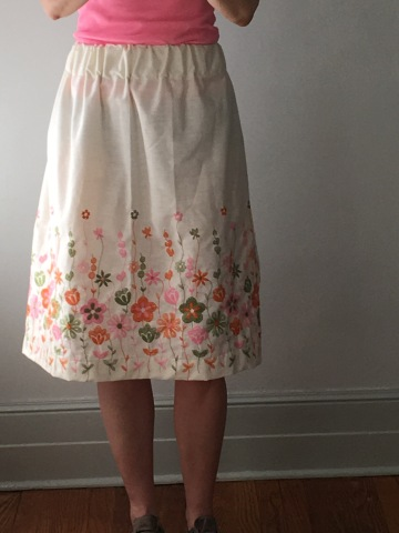 midi-skirt (no pattern)