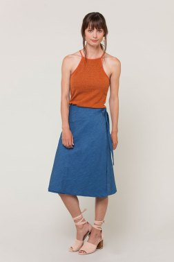 Laura Wrap Skirt/Seamwork Magazine